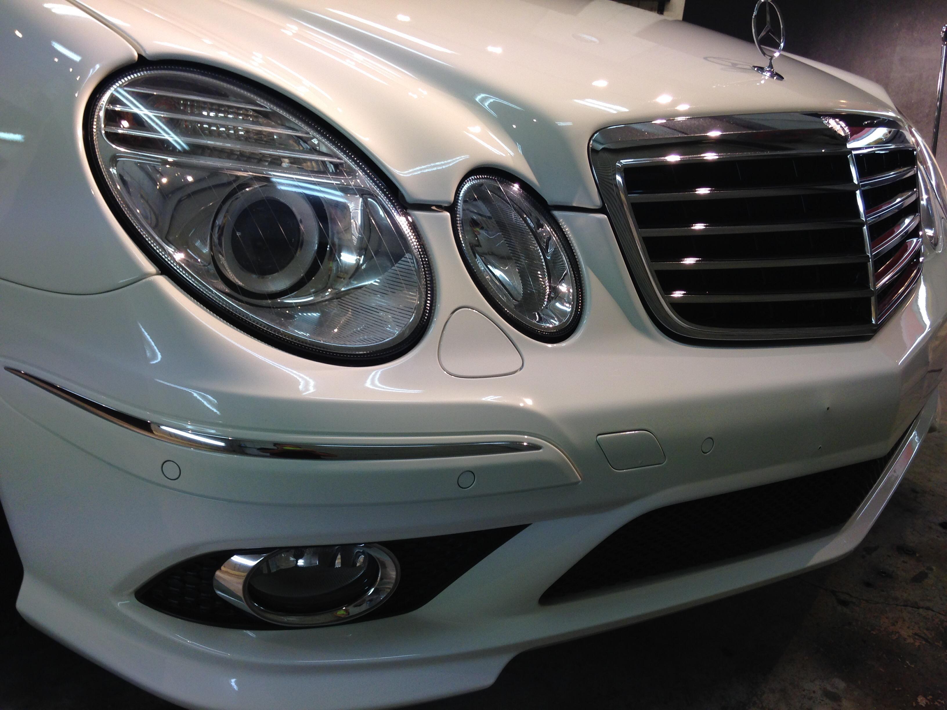 メルセデス E350SW ボディコーティング&ホイールコート