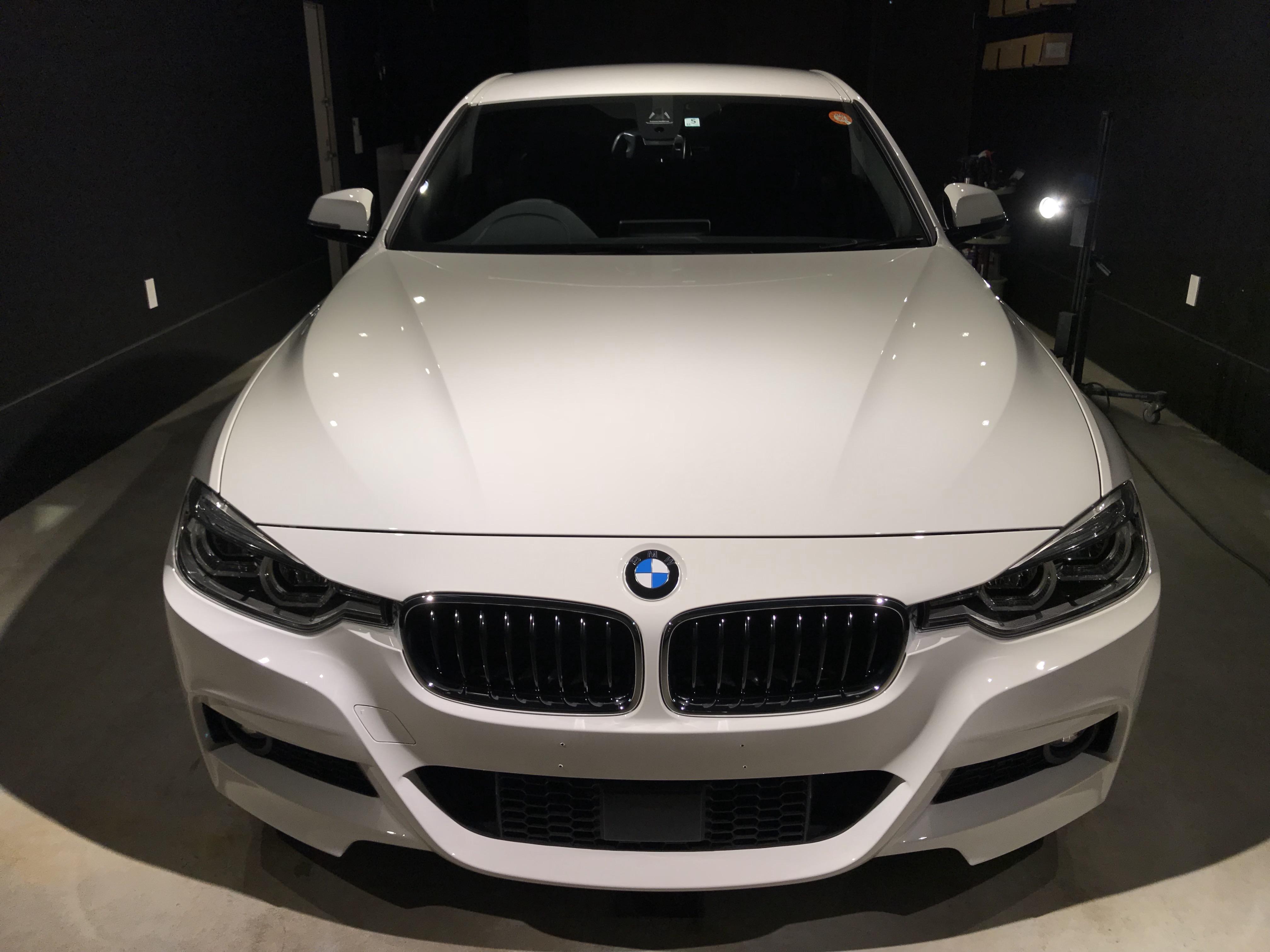 BMW320i M sportボディコーティング&ウインドウコーティング