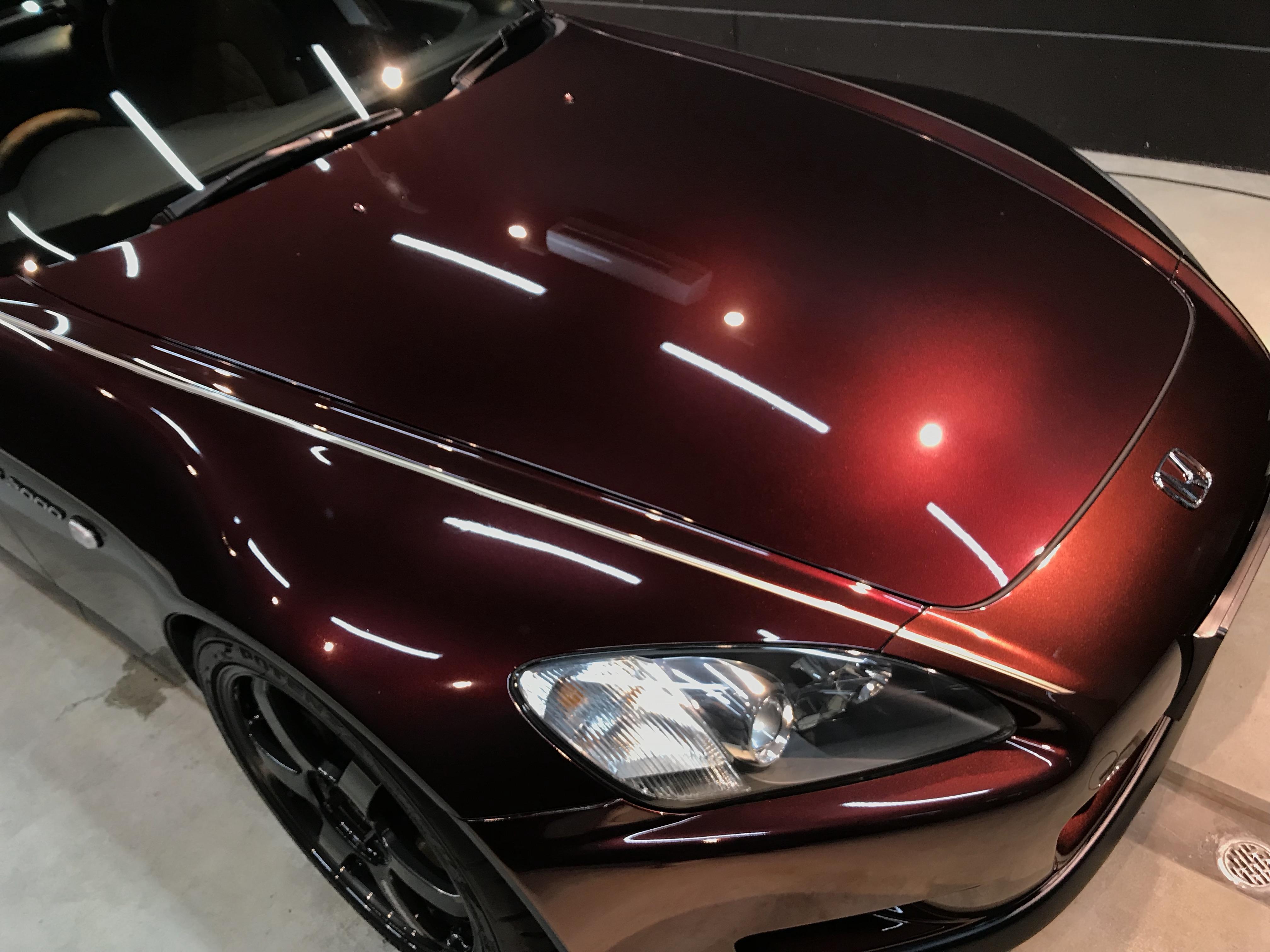 S2000ジオーレ ボディコーティングと謹賀新年