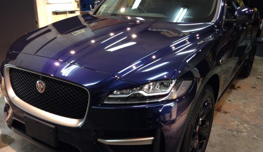 jaguar f-pace ボディコーティング