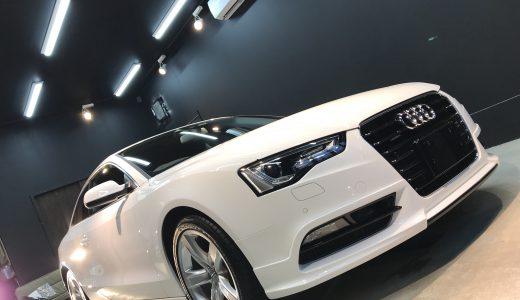 あれやこれ色々と…Audi A5coupé finish