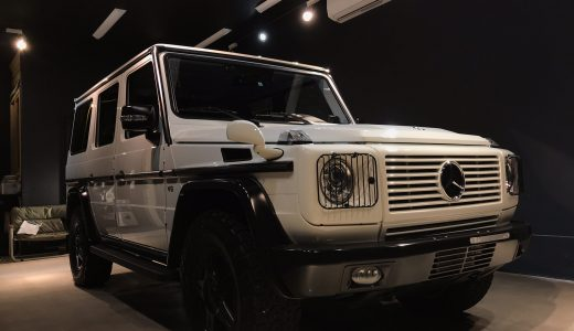 Mercedes-Benz G550 polish&coating完成!